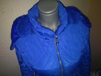 Plava zimska jakna - Pirot