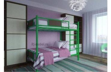 """Двухъярусная кровать """"Гарант"""" размер 2*0,80 цвет на выбор в Бишкек"""