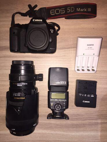 фотоаппарат nikon coolpix p50 в Кыргызстан: Canon 5D Mark III Sigma 70-200 2.8 APO DG HSM Canon SPEEDLITE