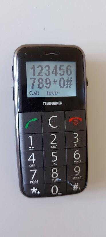 Elektronika - Vranje: Telefon za starije radi ma sve mreze bez mane