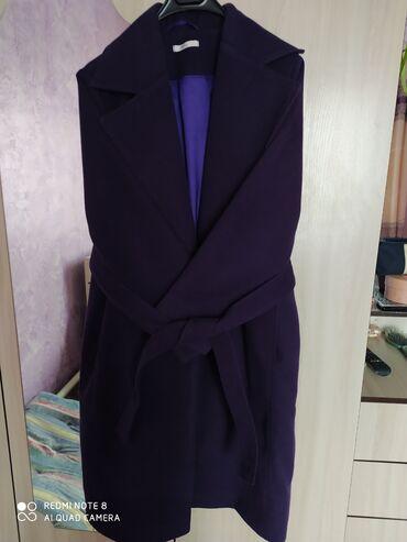 Женская одежда - Арашан: Пальто б/у сост отличное договорная свет фиолетовый турция