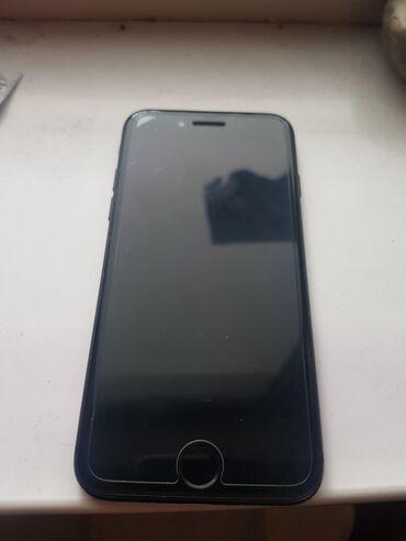 Мобильные телефоны - Бишкек: Б/У iPhone 7 32 ГБ Черный (Jet Black)