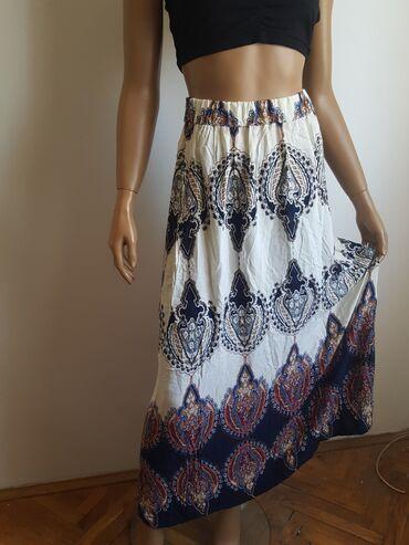 Dugacka suknja iz inostranstva S M