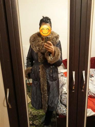 Продаю пальто осень-зима б/у, в хорошем в Бишкек