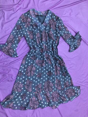 Легкое и очень удобное платье на лето . Можно одеть и с каблучками и с
