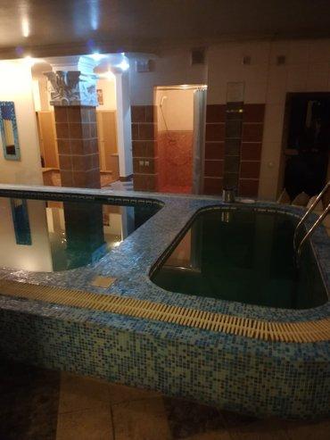 шикарная сауна с люкс номерами, отличная парилка, бассейн, джакузи в Бишкек