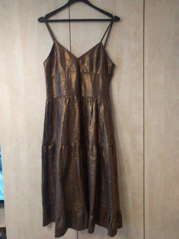 Preslatka Legend Attractive haljina M veličine braon - bronze boje. - Palic