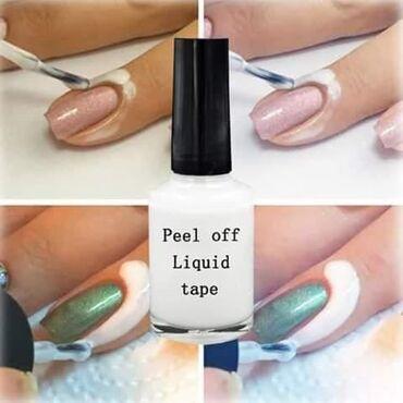 Peel of gel zastita za kozu oko nokta prilikom lakiranja. Nema vise