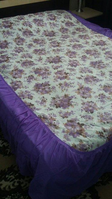 2покрывала на1. 5спальную кровать. 2 в Bakı