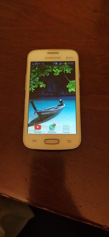 Samsung Galaxy Star Plus GT-S7262. İki kartlıdır. Çox səliqəli