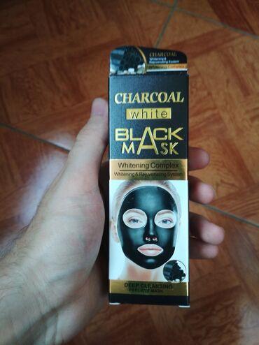 Bədənə qulluq - Gəncə: Qara maska