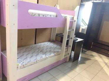 Двухяростный кровать,детский взрослый,есть готовые и на заказ   в Бишкек