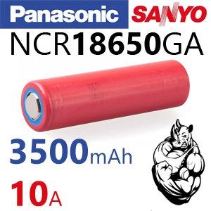 Sanyo NCR18650GA Li-ion аккумулятор формата 18650, в Бишкек