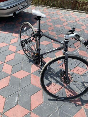Корейский складной шоссейный велосипед .  Размер колёс 28. Размер рамы