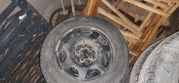 размер шин 18565 r15 в Кыргызстан: Диски R15 матовый  универсал 4шт Шины зимний R15/65/205 комплект 8000с
