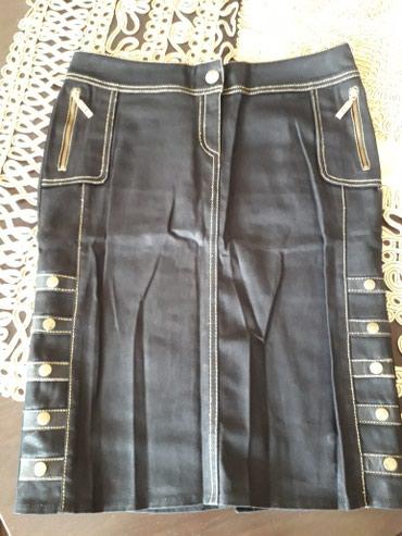 Черная юбка как новая. Турция. Размер 38. Длина юбки 56 см. в Bakı