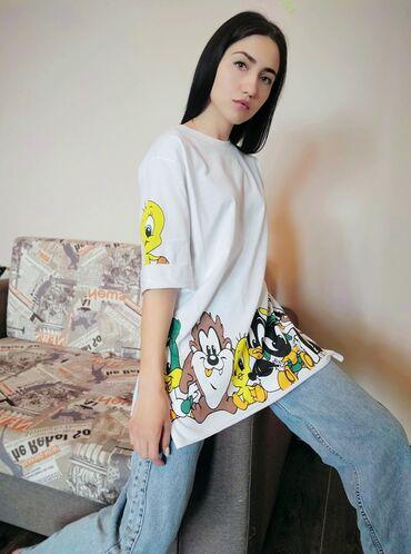 Женская футболка Размер: sm, LXl (44-46, 48-50)Производство