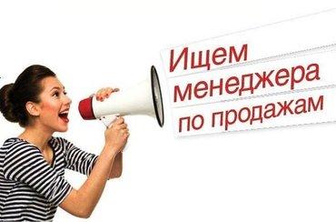 """В крупную торговую компанию """"BishBiz"""" требуется менеджер по продажам.  в Бишкек"""