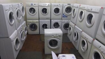 бу стиральная машина автомат in Кыргызстан   СТИРАЛЬНЫЕ МАШИНЫ: Фронтальная Автоматическая Стиральная Машина Indesit 5 кг