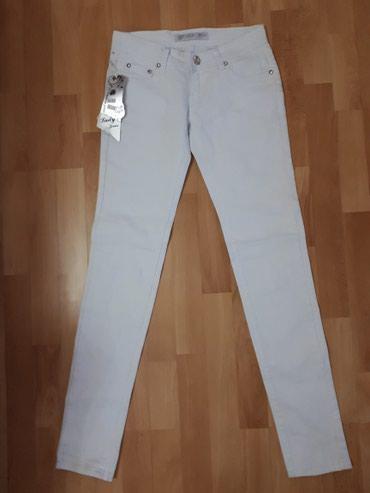 36 br.Nove farmerke bele sa etiketom Fashion jeans. - Jagodina