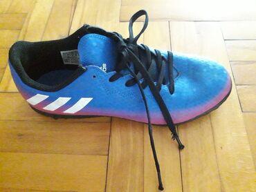 Dečije Cipele i Čizme - Obrenovac: Adidas patike za fudbal broj 38 ocuvane par puta nosene