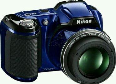 Nikon coolpix l810 (синий) в Бишкек