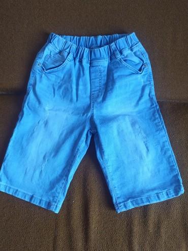 Детские джинсовые шорты на резинке на ребенка 8-10 лет в Бишкек