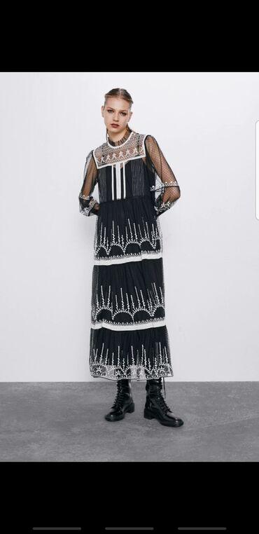 вечерние платья на полных женщин в Кыргызстан: Платье Вечернее Zara S