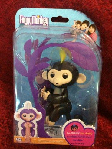 Funny monkey, отличная копия интерактивной обезьянки, игрушки для дете в Лебединовка