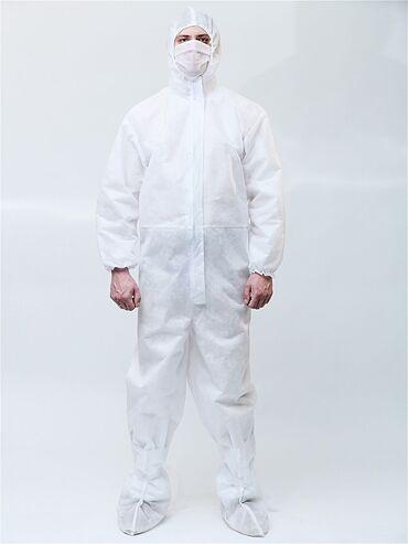 Медицинская одежда - Кыргызстан: Защитные костюмы для защиты от вируса из Спандбонда.40гр60грВ любом