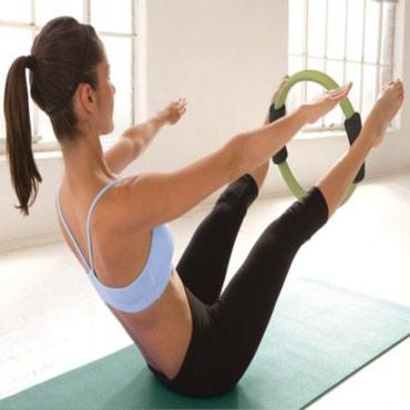 Bakı şəhərində Pilates çəmbəri yoqa və fitness aləti bütün bədən əzələlərini işlədir