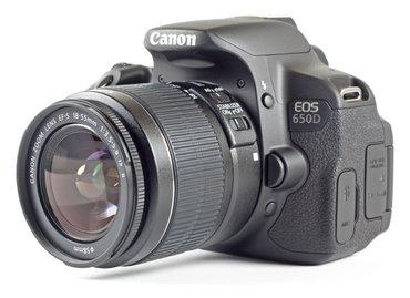 Зеркальный фотоаппарат Canon EOS 650D в Ош