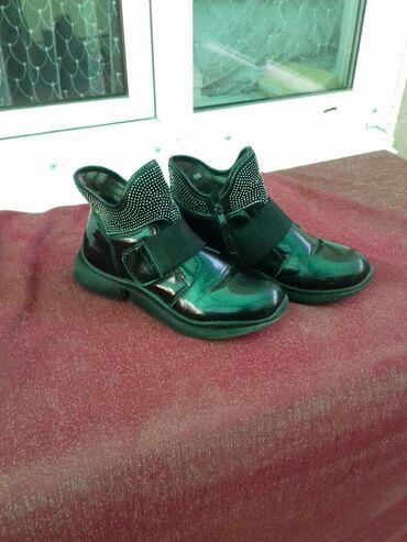 сканеры до 600 в Кыргызстан: Продаю подросковые ботинки в отличном состоянии. Свет черный .Подходит