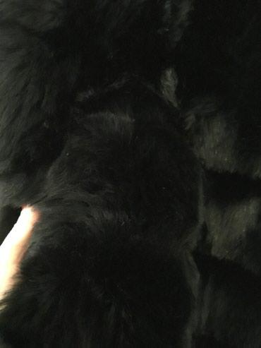 Αμανικη γούνα χρώμα μαύρο one size.δενεχει φορεθει ποτε. σε Πειραιάς - εικόνες 4