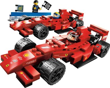 Lego 8168 Ferrari Victory Used without instructions or box A few parts σε North & East Suburbs