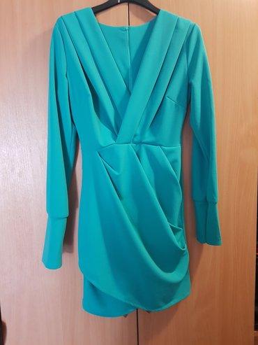 Tirkizna haljina S/M
