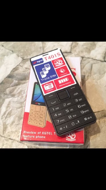 телефон флай кнопочный на 2 симки в Азербайджан: Telefon