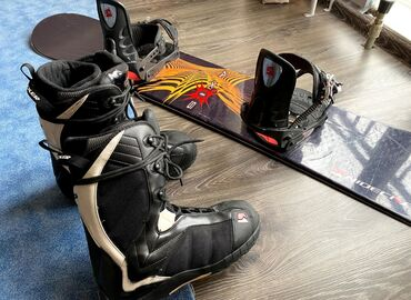 Сноуборды в Кыргызстан: Срочно !!! продаю отличный сноуборд Indecker 164покупал в свое вре