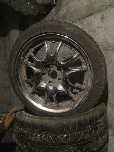 Продаю комплект колес Хром 225/45/18 Разболтовка 114.3*5 Цена 200$ в Бишкек