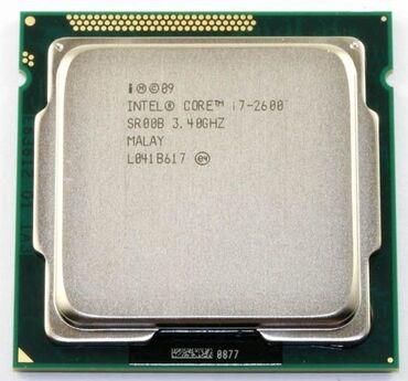 Пк в рассрочку - Кыргызстан: Процессор для пк. Сокет 1155 (lga) core i7-2600 4 ядра; 8 потоков