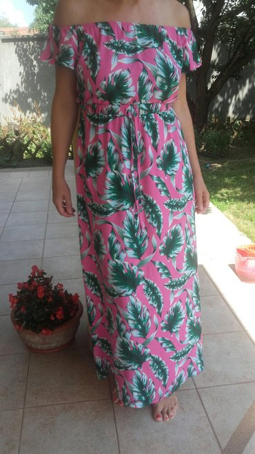 Letnja haljina, pamuk, vel. Xl - Crvenka