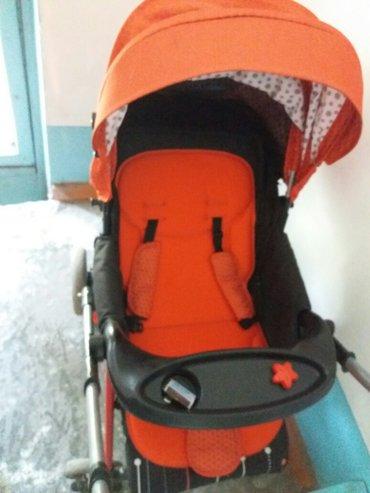 коляска подчти новая зима лето всё есть в комплекте.  в Лебединовка