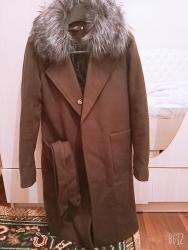 Женские пальто в Каинды: Пальто : цвет-хаки  Размер:42 отдам за 1200 уступлю