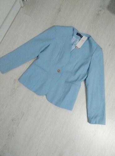 Kostimi - Srbija: Plavi sako, novo sa etiketom. Dimenzije: duzina sakoa 62cm, duzina