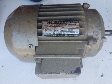 Trofazni el.motor sa stopama 380V 0,25kW 1400 o/min - Priboj