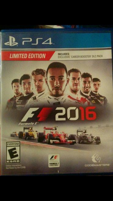 """Bakı şəhərində """"F1 Racing Limited"""" PlayStation PS4 Original Lisenziya disk."""