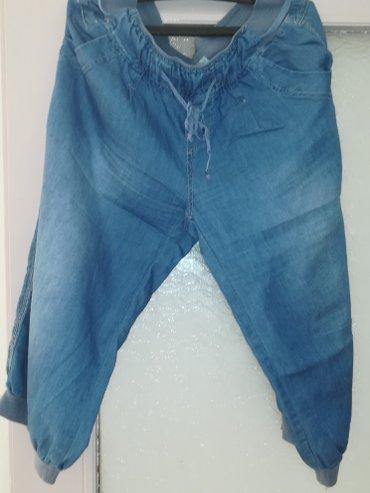 Letnje-pantalonice-din - Srbija: Zenske letnje pantalonice. Cena je za oba komada. Kupite dva proizvoda