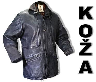 Muske kozne jakne - Srbija: HITNO! - KOZNA MUSKA JAKNA NA SNIZENJU ***- Materijel: Prava Cista