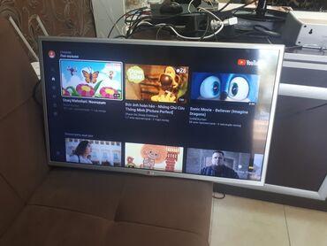 smart tv - Azərbaycan: LG televizor80 dioqonaldir,Orginal LGdi,Smart Tv si var,internetlə