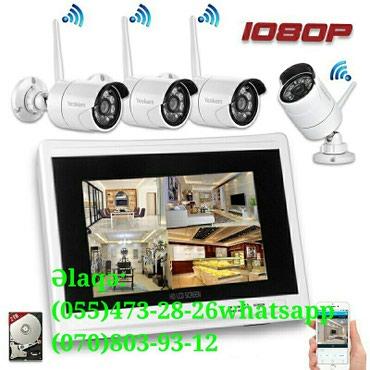 Камеры наблюдения установка и ремонт в Bakı